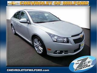 2012 Chevrolet Cruze Sedan for sale in Milford for $19,495 with 20,336 miles.