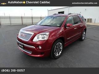 2011 GMC Acadia SUV for sale in Amarillo for $37,991 with 21,711 miles.