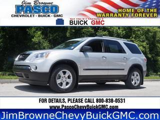 2010 GMC Acadia SUV for sale in Dade City for $21,000 with 40,570 miles.