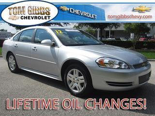 2012 Chevrolet Impala Sedan for sale in Palm Coast for $16,885 with 17,745 miles.