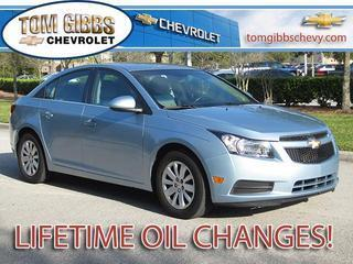 2011 Chevrolet Cruze Sedan for sale in Palm Coast for $14,450 with 45,828 miles.