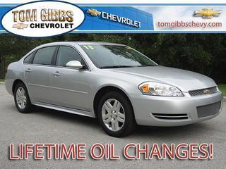 2013 Chevrolet Impala Sedan for sale in Palm Coast for $17,885 with 17,857 miles.