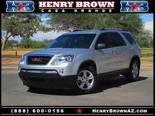 2012 GMC Acadia SUV for sale in Casa Grande for $25,995 with 30,597 miles.