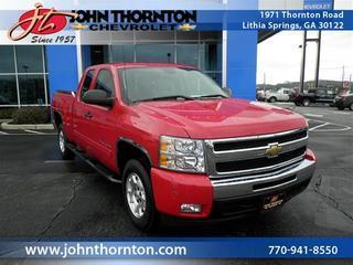 Used 2011 Chevrolet Silverado 1500 - Lithia Springs GA