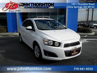 Used 2013 Chevrolet Sonic - Lithia Springs GA
