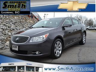 2013 Buick LaCrosse Sedan for sale in Laurens for $26,500 with 24,841 miles.