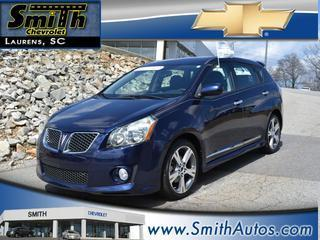 2009 Pontiac Vibe Hatchback for sale in Laurens for $15,000 with 55,337 miles.