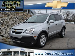 2013 Chevrolet Captiva Sport SUV for sale in Laurens for $18,500 with 25,248 miles.