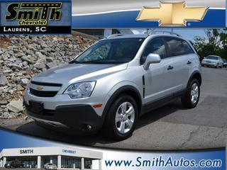 2013 Chevrolet Captiva Sport SUV for sale in Laurens for $18,500 with 28,205 miles.