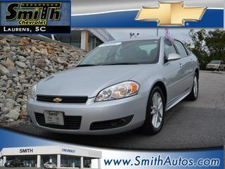 2011 Chevrolet Impala Sedan for sale in Laurens for $15,000 with 54,948 miles.