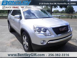 2011 GMC Acadia SUV for sale in Huntsville for $28,490 with 51,604 miles.