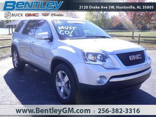 2012 GMC Acadia SUV for sale in Huntsville for $29,980 with 58,399 miles.