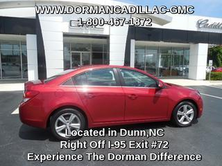 2013 Chevrolet Cruze Sedan for sale in Dunn for $17,840 with 30,700 miles.