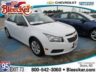 2014 Chevrolet Cruze Sedan for sale in Dunn for $16,998 with 4,229 miles.
