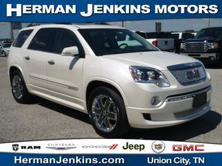 2012 GMC Acadia SUV for sale in Union City for $37,975 with 38,458 miles.