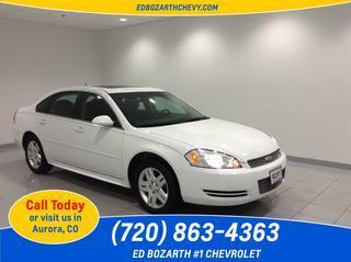 2013 Chevrolet Impala Sedan for sale in Aurora for $16,988 with 24,000 miles.