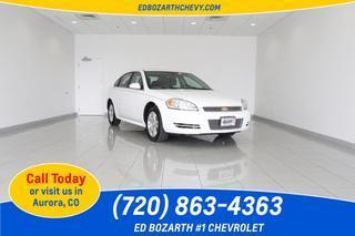 2013 Chevrolet Impala Sedan for sale in Aurora for $16,988 with 27,282 miles.