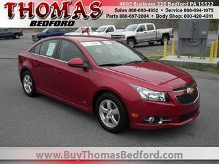 2011 Chevrolet Cruze Sedan for sale in Bedford for $14,985 with 34,659 miles.