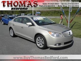 2011 Buick LaCrosse Sedan for sale in Bedford for $19,285 with 21,356 miles.