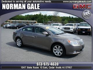 2011 Buick LaCrosse Sedan for sale in Cedar Knolls for $21,998 with 37,024 miles.