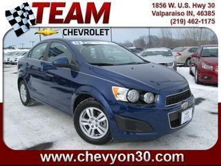 Used 2013 Chevrolet Sonic - Valparaiso IN