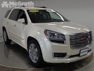 2013 GMC Acadia SUV for sale in Cedar Rapids for $46,998 with 24,693 miles.