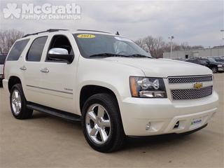 2011 Chevrolet Tahoe SUV for sale in Cedar Rapids for $45,998 with 35,431 miles.