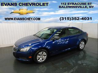 2013 Chevrolet Cruze Sedan for sale in Baldwinsville for $15,495 with 13,152 miles.
