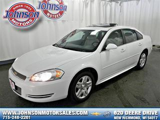 2013 Chevrolet Impala Sedan for sale in New Richmond for $16,900 with 26,282 miles.