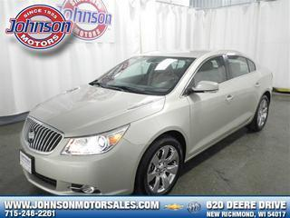 2013 Buick LaCrosse Sedan for sale in New Richmond for $31,900 with 8,806 miles.