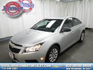 2011 Chevrolet Cruze Sedan for sale in New Richmond for $14,489 with 2,173 miles.