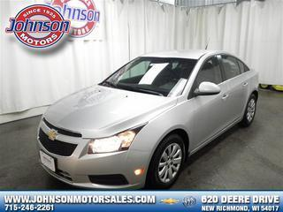 2011 Chevrolet Cruze Sedan for sale in New Richmond for $13,989 with 56,267 miles.