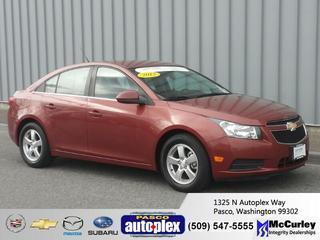2013 Chevrolet Cruze Sedan for sale in Pasco for $20,521 with 31,513 miles.