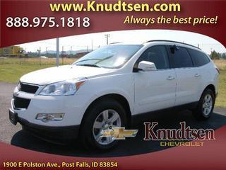 2012 Chevrolet Traverse SUV for sale in Post Falls for $25,995 with 45,140 miles.