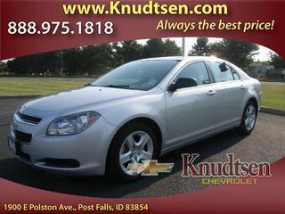 2012 Chevrolet Malibu Sedan for sale in Post Falls for $17,995 with 32,136 miles.