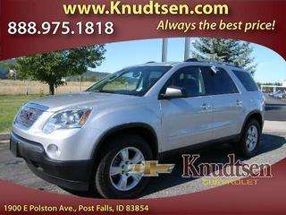 2012 GMC Acadia SUV for sale in Post Falls for $28,995 with 24,060 miles.