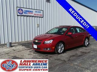 2013 Chevrolet Cruze Sedan for sale in Abilene for $19,385 with 17,892 miles.