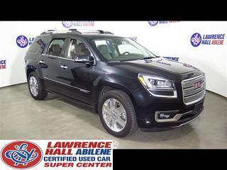 2013 GMC Acadia SUV for sale in Abilene for $44,995 with 21,215 miles.