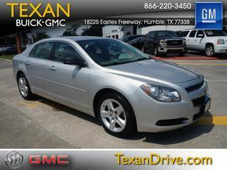 2012 Chevrolet Malibu Sedan for sale in Humble for $15,225 with 41,274 miles.