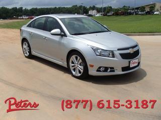 2013 Chevrolet Cruze Sedan for sale in Longview for $21,995 with 29,210 miles.