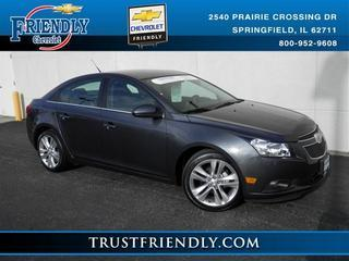 2013 Chevrolet Cruze Sedan for sale in Springfield for $19,731 with 34,744 miles.