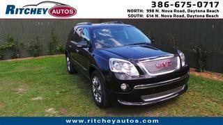 2011 GMC Acadia SUV for sale in Daytona Beach for $33,988 with 69,970 miles.