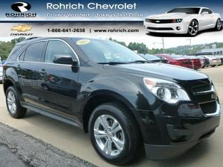 2012 Chevrolet Equinox SUV for sale in Pittsburgh for $20,697 with 62,327 miles.