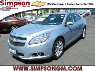 2013 Chevrolet Malibu Sedan for sale in Garden Grove for $18,991 with 29,982 miles.