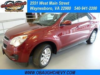 2011 Chevrolet Equinox SUV for sale in Waynesboro for $20,995 with 43,077 miles.