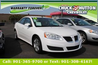 2010 Pontiac G6 Sedan for sale in Memphis for $12,900 with 66,861 miles.