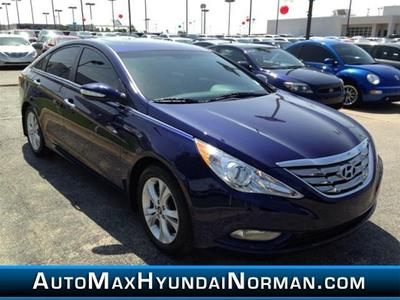 2013 Hyundai Sonata Limited Sedan for sale in Norman for $19,800 with 27,685 miles.