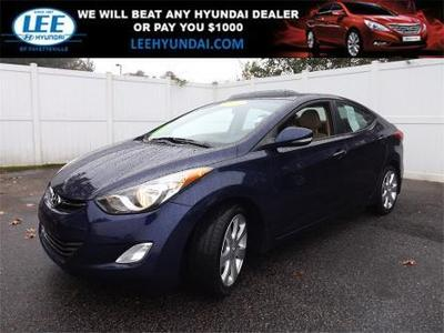 2013 Hyundai Elantra Limited Sedan for sale in Fayetteville for $17,997 with 11,965 miles.