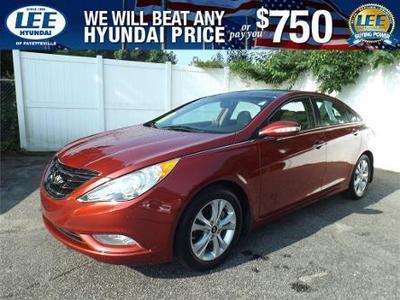 2013 Hyundai Sonata Limited Sedan for sale in Fayetteville for $21,987 with 12,622 miles.