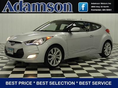 2012 Hyundai Veloster Hatchback for sale in Rochester for $16,995 with 12,482 miles.